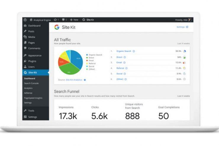 Le plugin WordPress Site kit de Google est disponible en version bêta pour les développeurs
