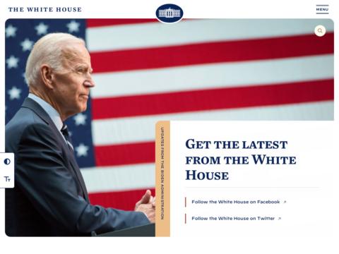 L'administration Biden tient à ce que la nouvelle version du site Web de la Maison Blanche soit propulsé par WordPress