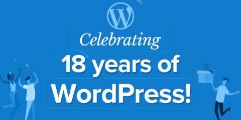 WordPress fête ses 18 ans en propulsant 40% du Web